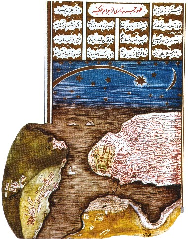 Kometa virš Bosforo, 1577