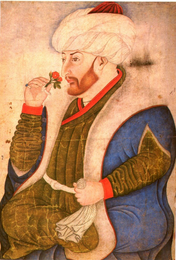 Laisvalaikiu Mehmetas II uostinėdavo gėles