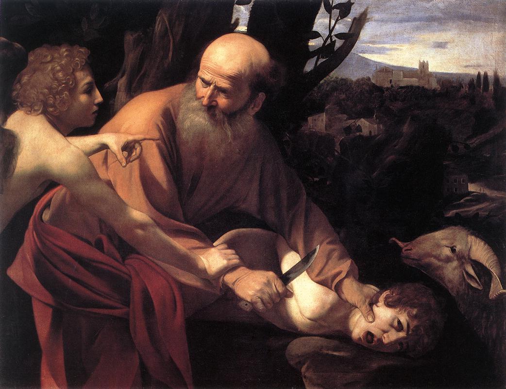Abraomas aukoja sūnų