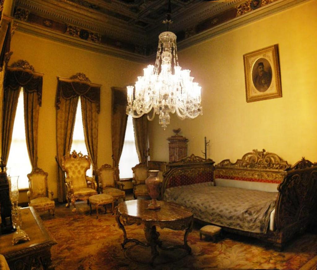 Sultono Abdiulazizo kambarys Dolmabahçe rūmuose