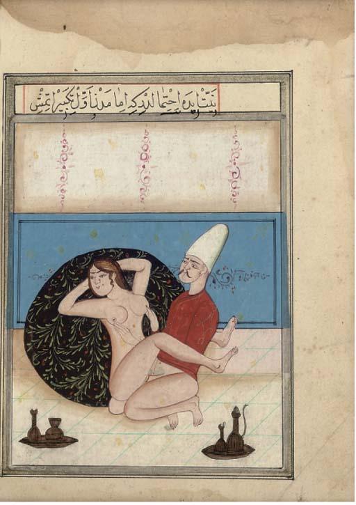 Čia ne sultoniško sekso iliustracija, bet osmanai irgi turėjo linksmų paveiksliukų