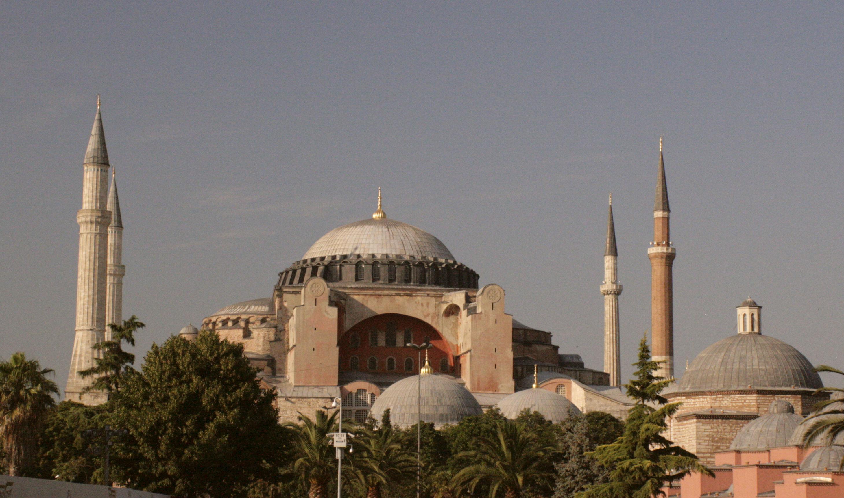 Aya Sofya - Šventos Išminties Soboras Stambule, vienas didingiausių matytų dalykų